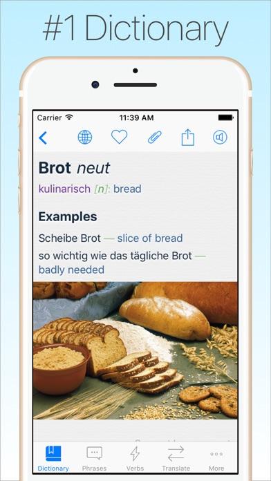 Screenshot #6 for German Dictionary & Translator
