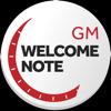 DNET STUDIO - GM WELCOME NOTE  artwork