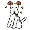 The Wire Fox Terrier Dog Emoji