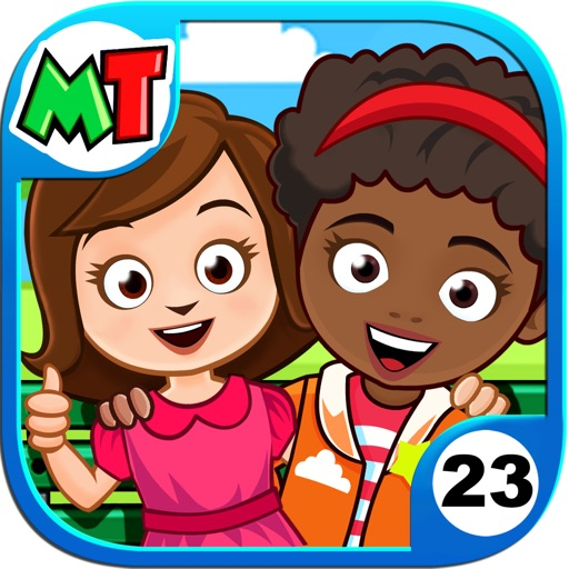 My Town : Best Friend's House app for ipad