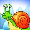 Snail Bob Run game for iPhone/iPad