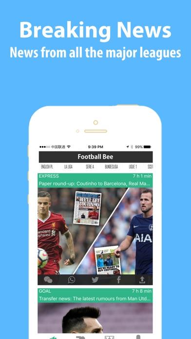 Football bee League Live Score Скриншоты4