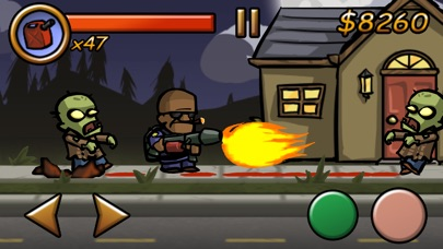 Screenshots of Zombieville USA for iPhone