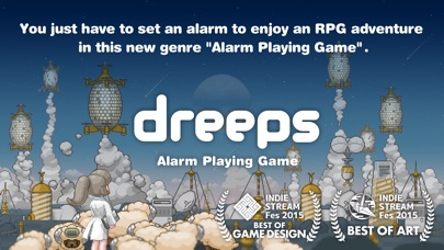 dreeps: Alarm Playing Game screenshot 1