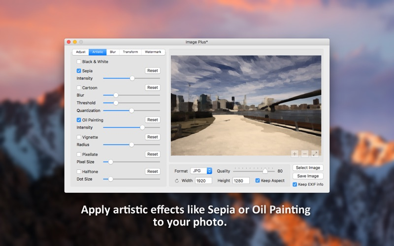 Image Plus - Watermark, Rotate and Convert Photos Screenshots