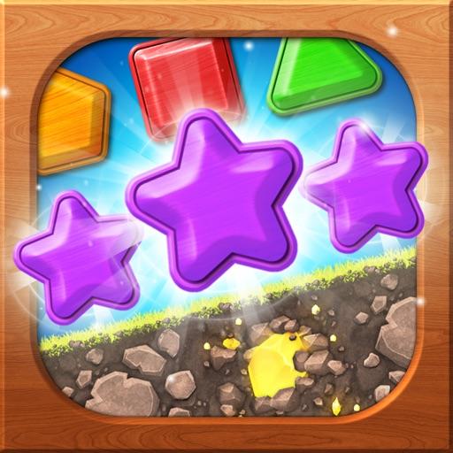 Wooden Match 3 - Puzzle Blast
