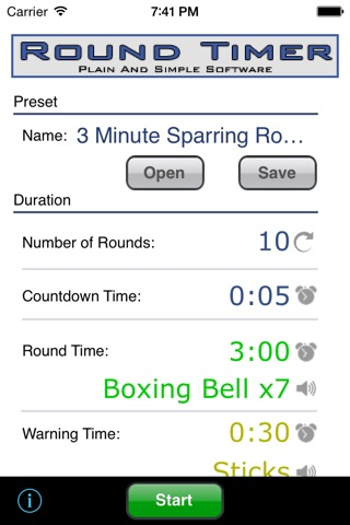 Round Timer screenshot 1