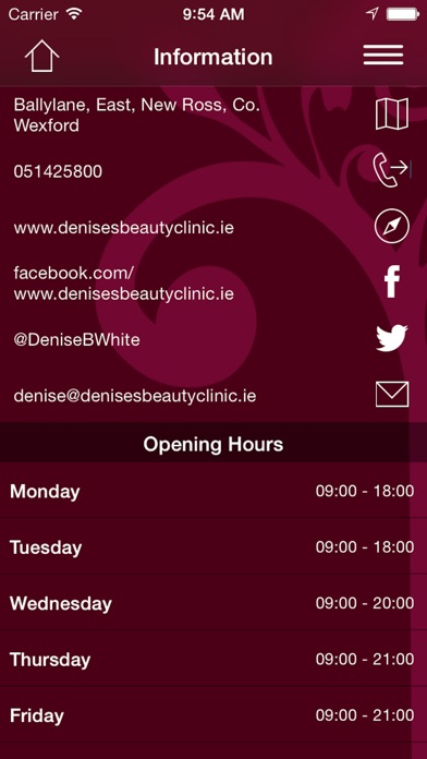 App shopper denises beauty clinic lifestyle for Adonia beauty salon