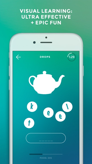 Screenshot #4 for Learn English language & words with Drops