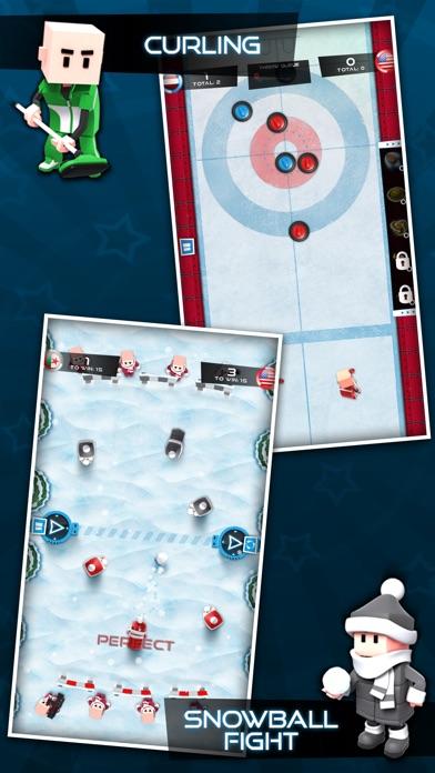 Flick Champions Winter Sports Screenshots