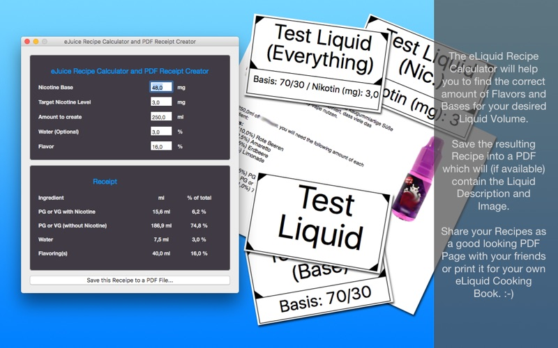 Liquid Database Screenshots