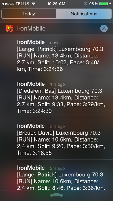IronMobile - Ironman Tracker Screenshots