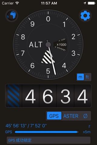 Altimeter+ screenshot 1
