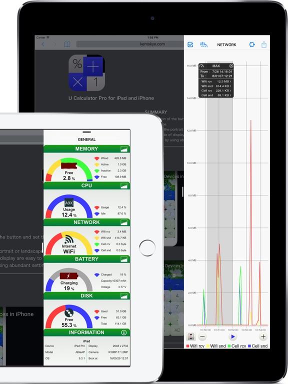 System Status Screenshots
