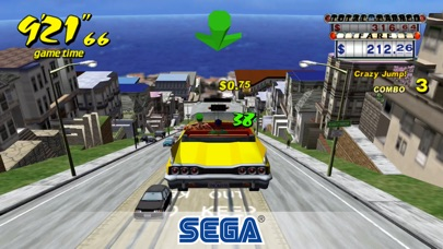 Screenshot of Crazy Taxi Classic1