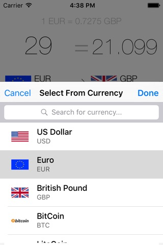 My Currency Converter Pro screenshot 2
