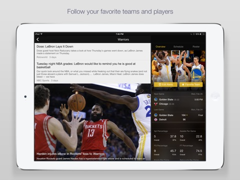 Yahoo Sports: Scores & News screenshot 2