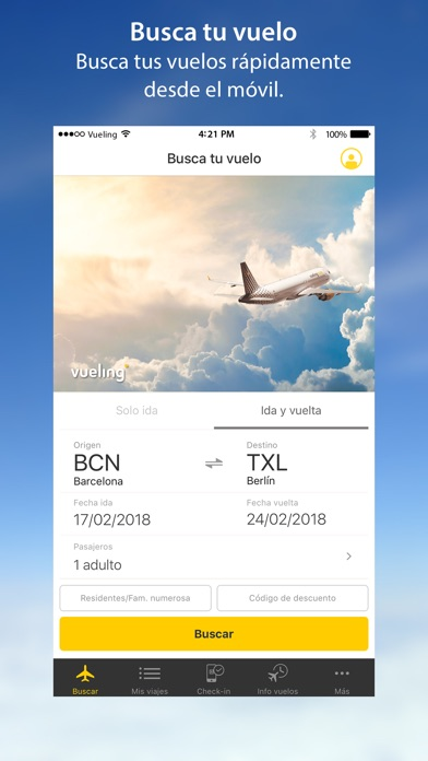 download Vueling - Vuelos baratos apps 1