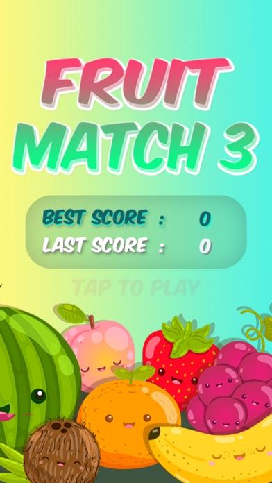 Fruit Match 3 - Puzzle Game screenshot 1