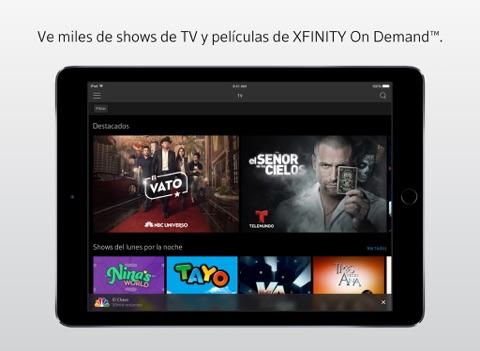 XFINITY Stream screenshot 1