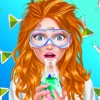 Dream Job: Science Girl Beauty Makeover Salon Game