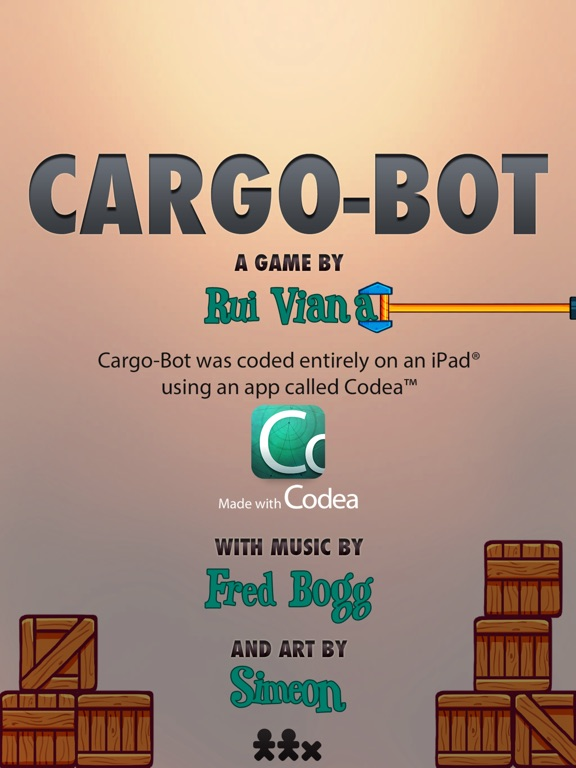 Cargo-Bot Screenshot