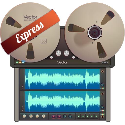 Vector 3 Express - Audio Recorder and Editor