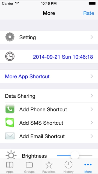 Shortcut Manager Pro Screenshots