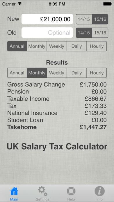 monthly payroll calculator