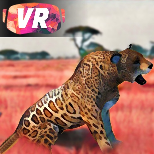 Low Poly Leopard Hunter - Virtual Reality (VR) iOS App