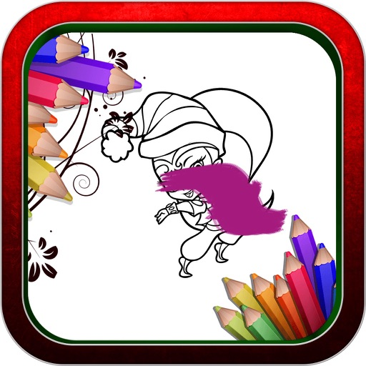 Color Book Game: For Shimmer and Shine iOS App