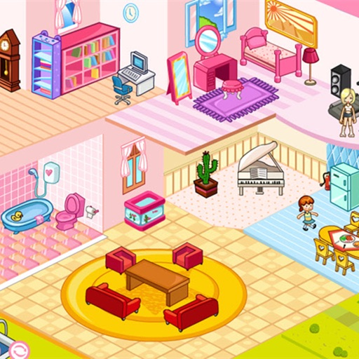 Doll House Decoration iOS App