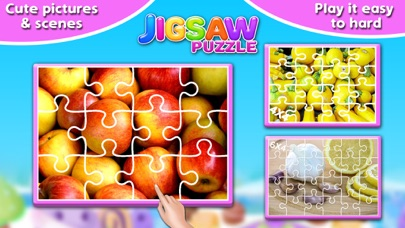 Screenshot #6 for Fruits & Vegetables Jigsaw Puzzle - Fun With Foods
