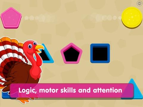 Shapes! Toddler Kids Games,Baby Boys Learning Free screenshot 2