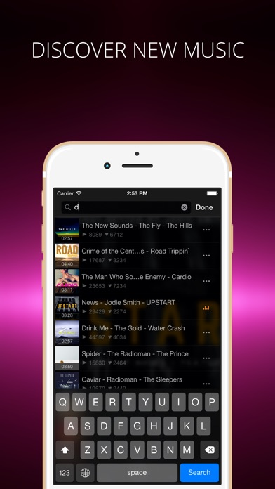Soundy player for soundcloud on the app store iphone screenshot 3 ccuart Image collections