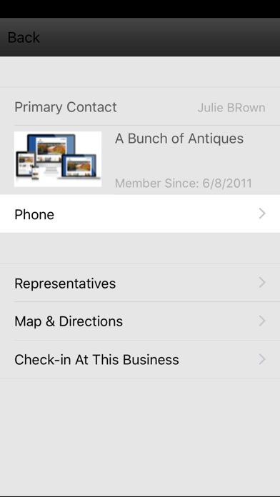 Screenshot of MemberPlus3