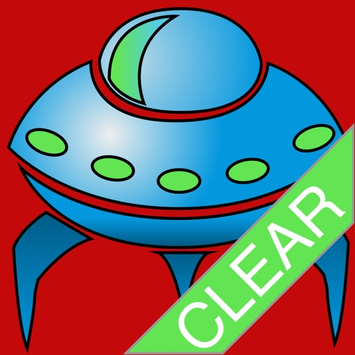 UFO Alien Invaders Clear Icon