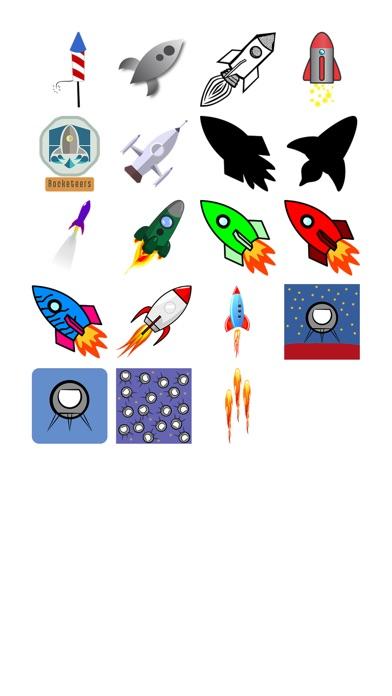 Rocket стикеров!Скриншоты 1