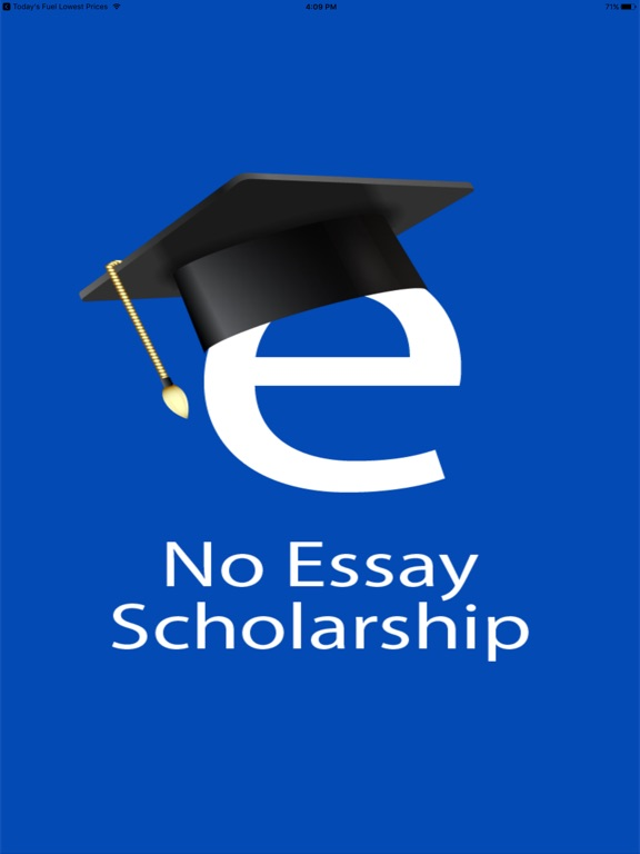 no essay scholarship search push to apply on the app store ipad screenshot 1