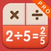Fraction Calculator Pro - Display the process