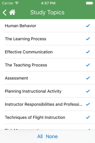2017 FAA Test Prep - Fundamentals of Instructing screenshot 4