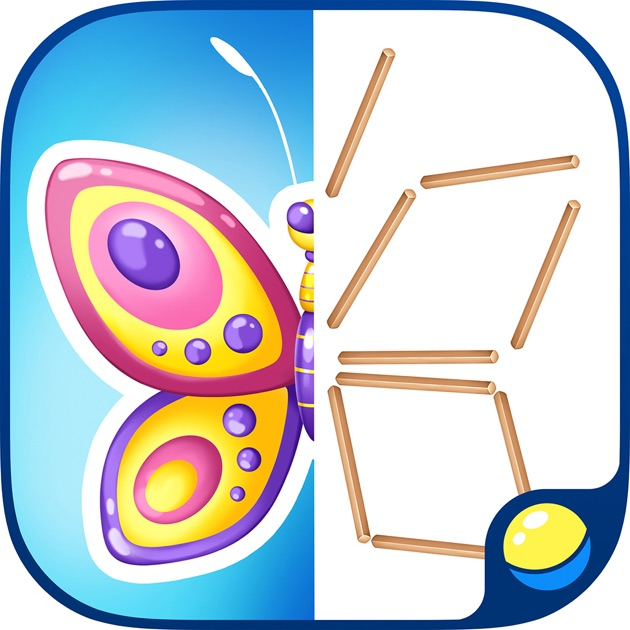 Matchstick puzzle for kids learn numbers shapes on the for Peculiarity crossword clue