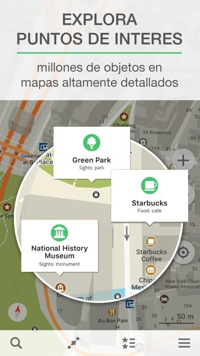 download MAPS.ME – Mapa offline con GPS apps 4