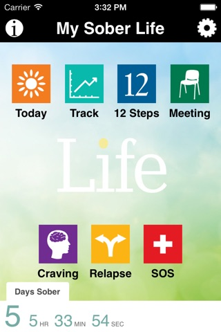 My Sober Life: Recovery Support for Young Adults screenshot 1