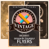Vintage Flyers & Poster Creator - Make Posters DIY