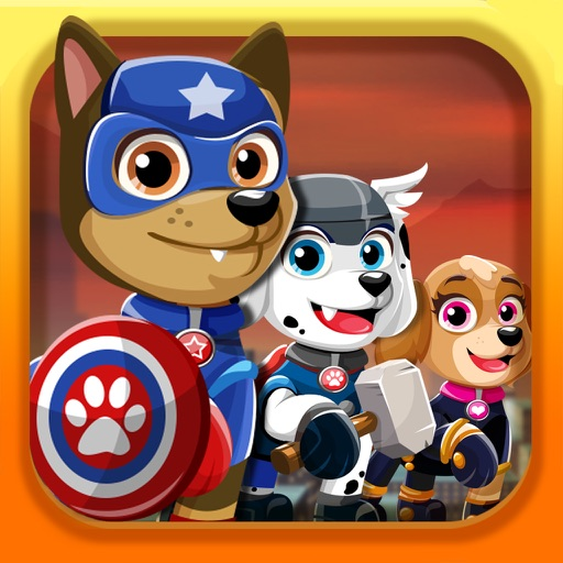 Super-Hero Pups Patrol– Dress Up Games for Free HD iOS App