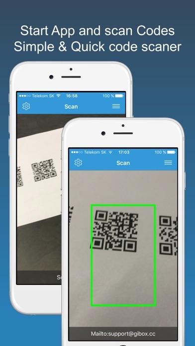 scan pro barcode qr code reader. Black Bedroom Furniture Sets. Home Design Ideas
