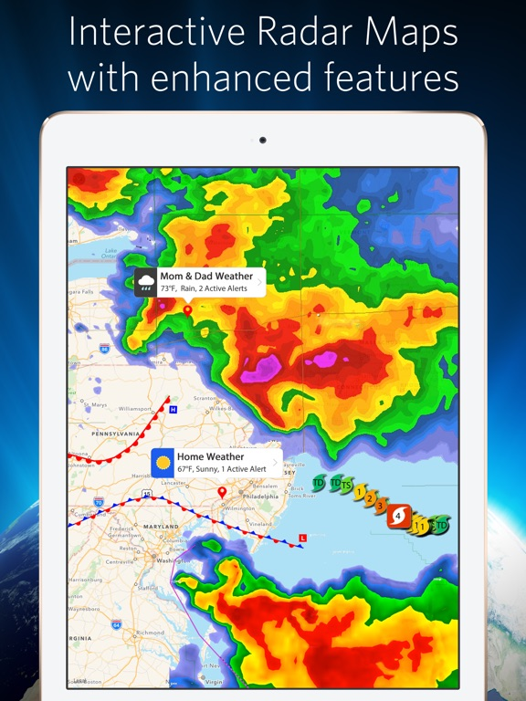 Weather Mate Pro Forecast On The App Store - Us radar map forecast