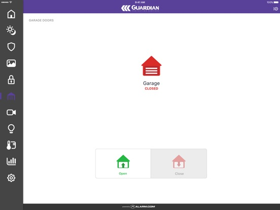 App shopper guardian protection services lifestyle for Cpi security intouch