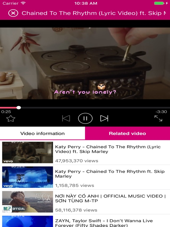 Music Tube - Listen MP3 & Watch Music Videos-ipad-0